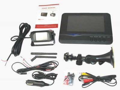 4UCam 9901 complete RV backup camera system