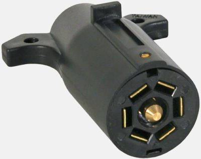 7-pin trailer electrical connector female end