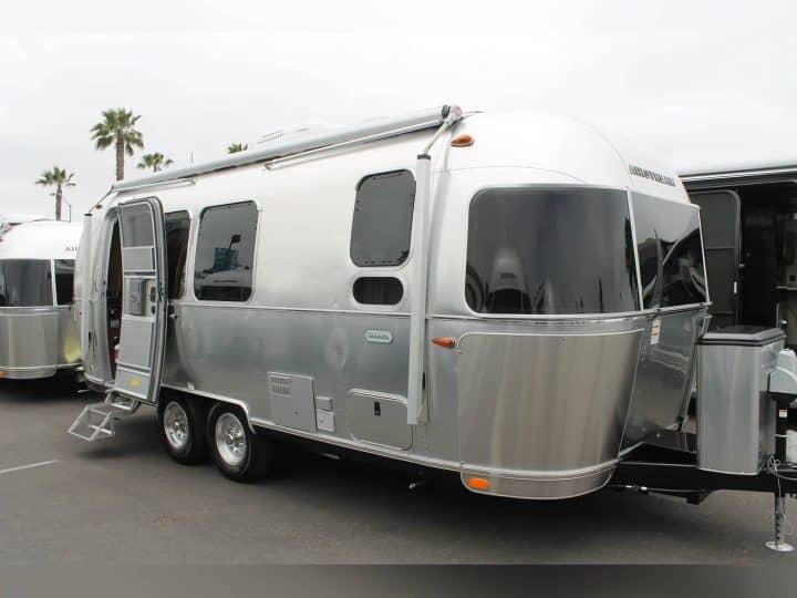 Airstream Globetrotter trailer