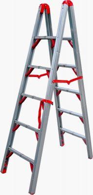 Aluminum folding ladder Telesteps 600FLD Stik