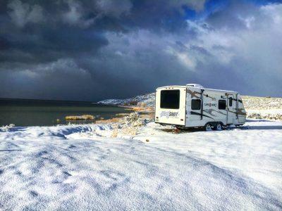 BLM camping Miners Canyon Utah Lake