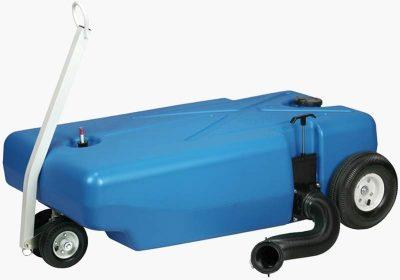 Barker 42 gallon tote tank