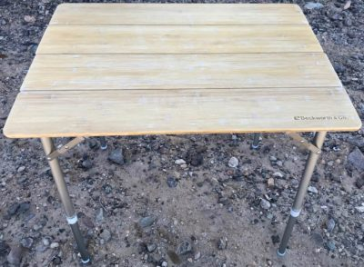 Beckworth bamboo portable table