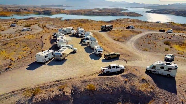Boondocking Government Wash Nevada