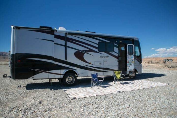 Brandon's Bay Star with RV mat