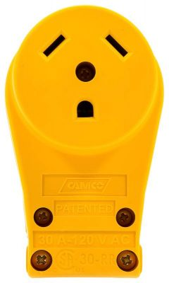 Camco 55343 30 amp replacement receptacle