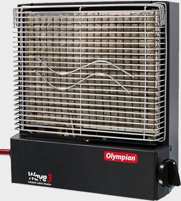 Camco Olympian Wave 3 catalytic propane heater