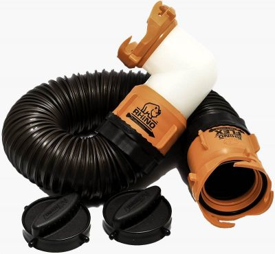 Camco Rhino RV portable waste tank hose kit