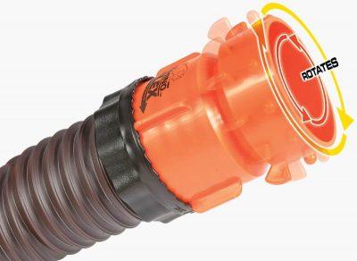 Camco RhinoFLEX RV septic hose rotating end
