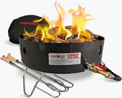 Camp Chef propane fire pit complete kit