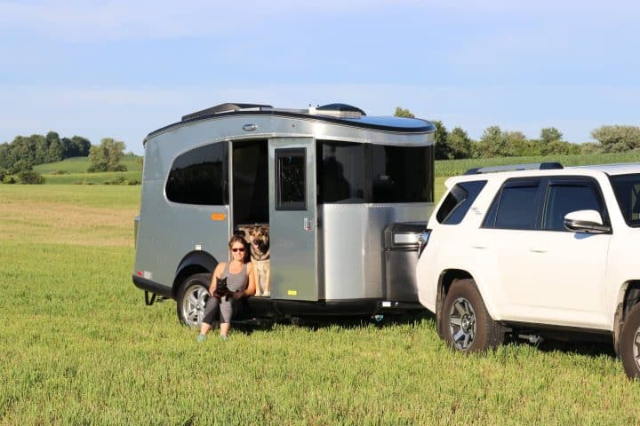 Cass and Airstream Basecamp