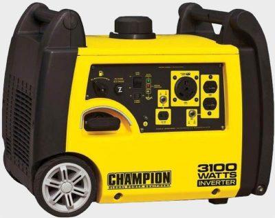 Champion 75531i portable generator right side
