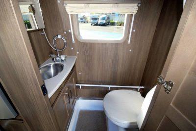 Class B motorhome wet bath