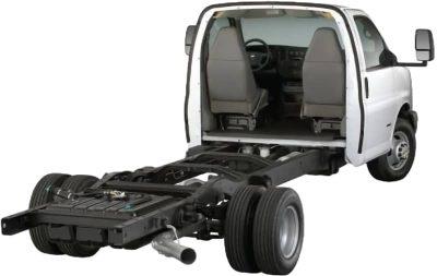 Class C motorhome cutaway chassis