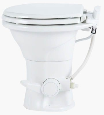 Dometic 310 RV toilet left side