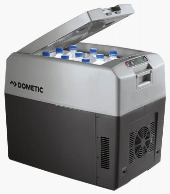 Dometic TC-35 12v car refrigerator open