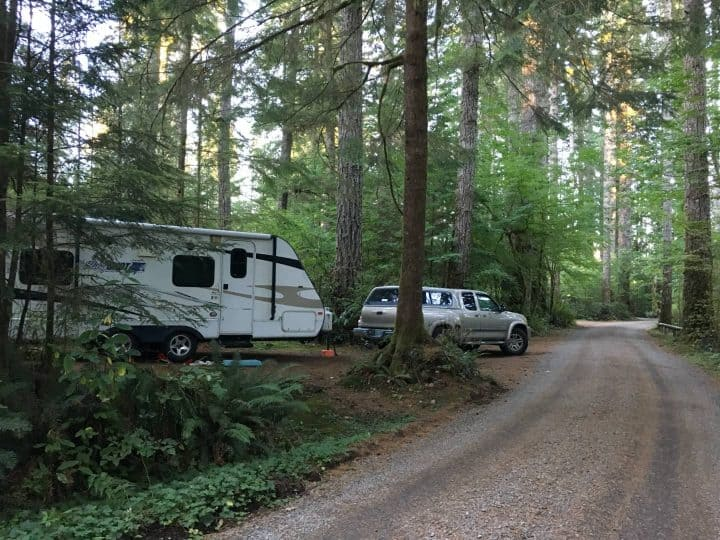 Dry Camping Bear Creek Campground Washington