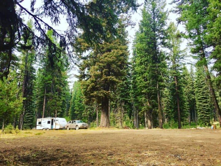Dry Camping McCall Idaho