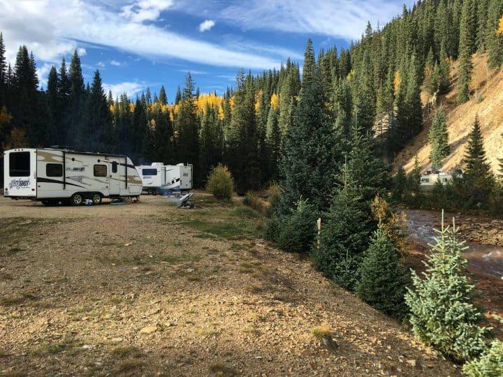 Dry Camping Sultan Camping Area Silverton Colorado
