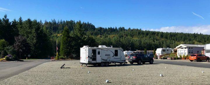 Dry camping at SKP park