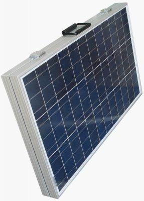 Eco-Worthy 120 watt poly folding solar panel folded
