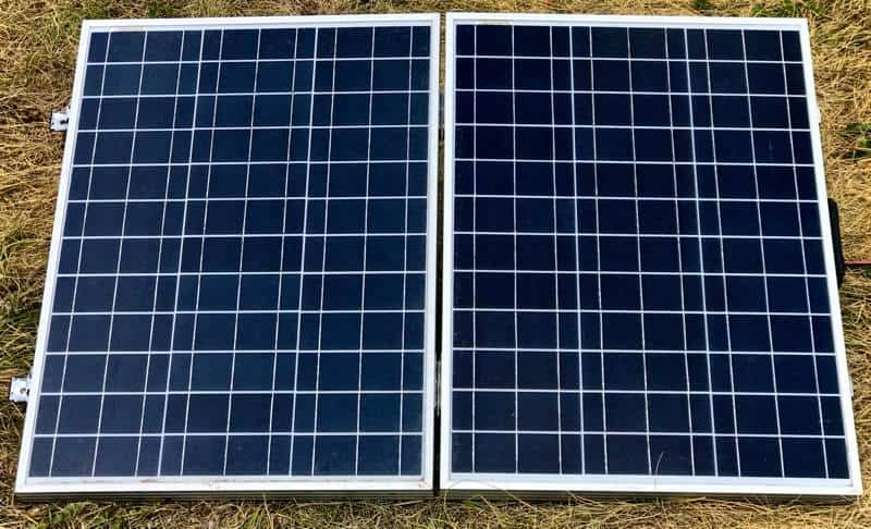 Eco-Worthy poly portable solar panel front