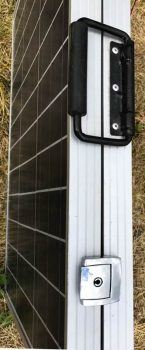 Eco-Worthy portable solar panel closed