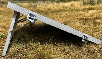 Eco-Worthy portable solar panel side