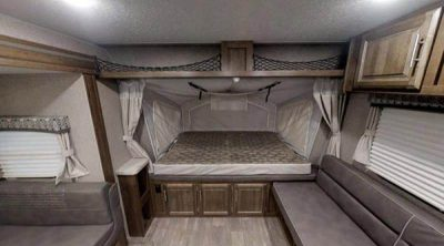Expandable Travel Trailer interior