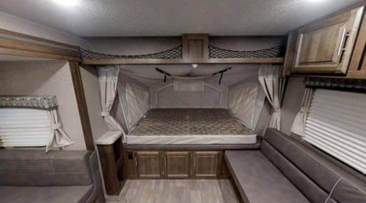 Expandable Travel Trailer interior
