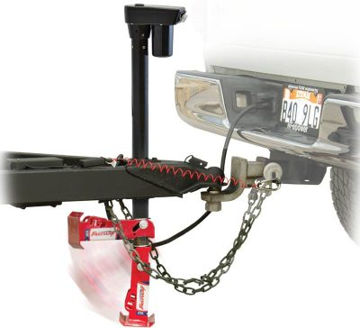 Fastway Flip trailer jack foot mounted