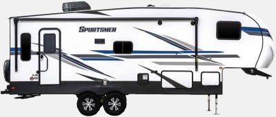 Fifth wheel trailer profile
