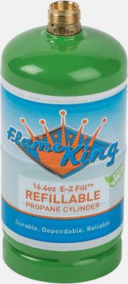 Flame King refillable propane cylinder