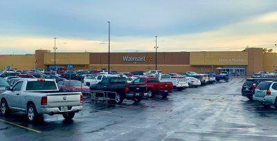 Fort Walton Beach Walmart parking lot