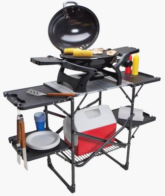 GCI Outdoor slim fold portable cook table