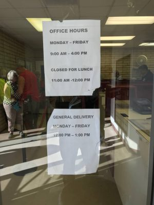 Quartzsite Post Office General Delivery Hours