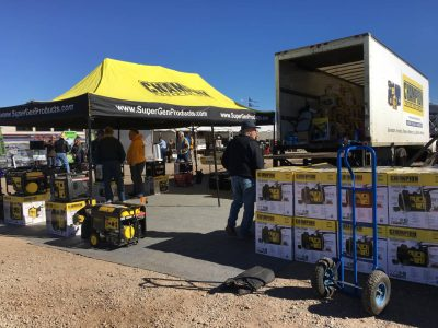 Generators for sale Quartzsite RV show