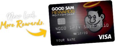 Good Sam rewards credit card