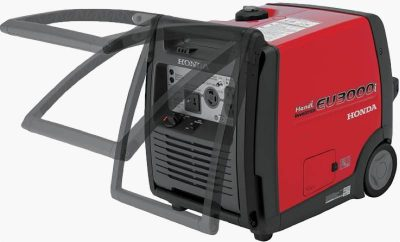 Honda EU3000i Handi inverter generator handle positions