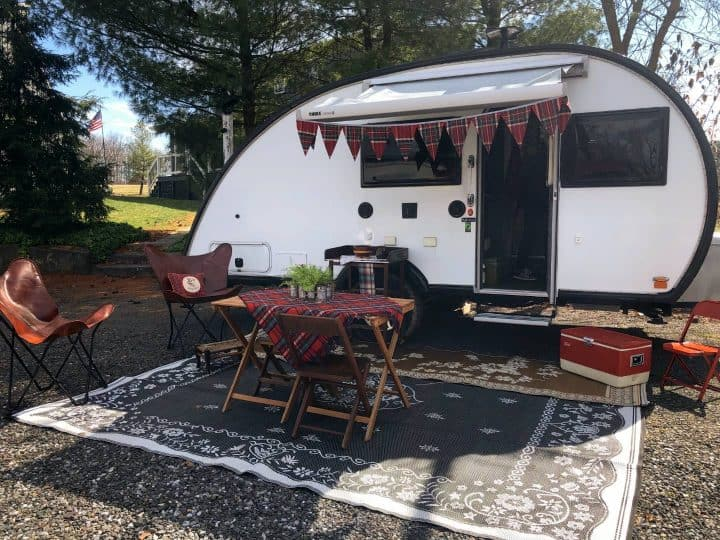 Janines Max small camping trailer