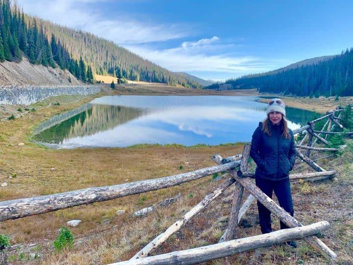 Kelly at Timber Lake Rocky Mountain National Park