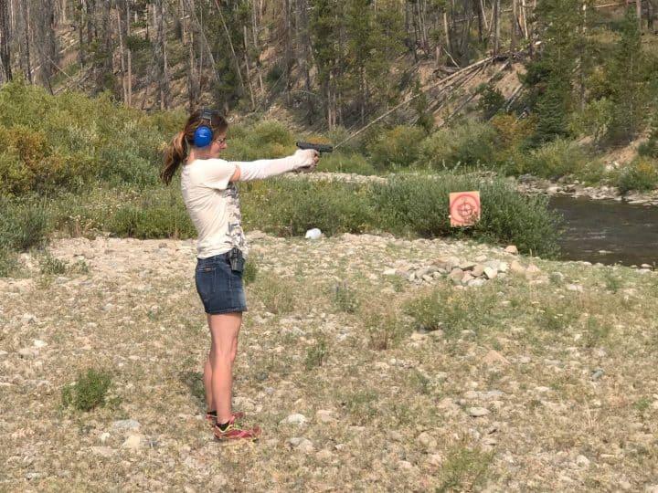 Kelly target shooting