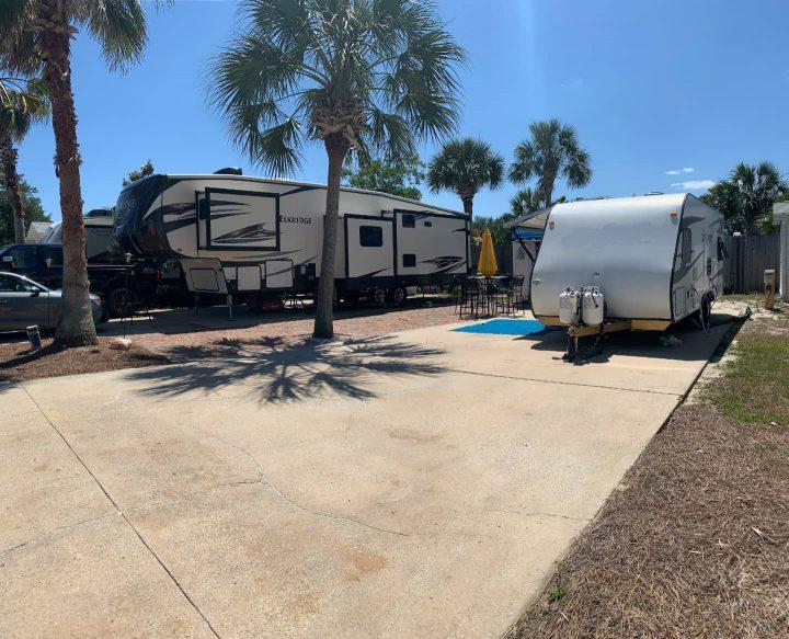 Kelly's RV in full time RV park
