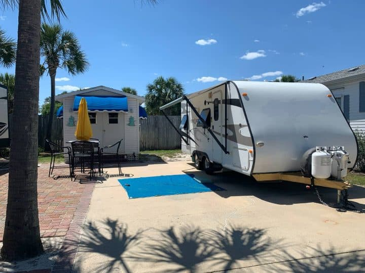 Kelly's RV in a year round RV park