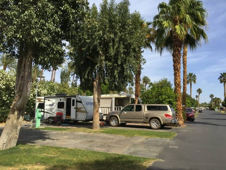 Kelly's rig in campground