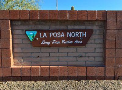 La Posa North sign