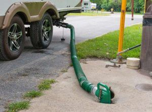 Lippert Waste Master sewer hose dump station