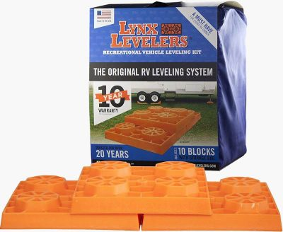 Lynx RV Leveling blocks box