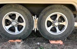 Marshall wheel chocks