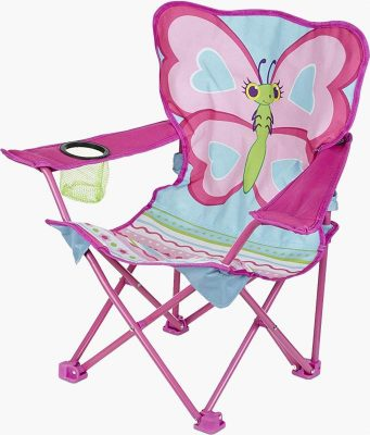 Melissa and Doug Bella Butterfly kids camp chair